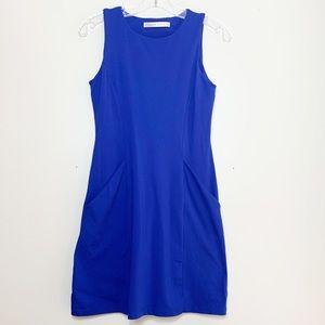 Susana Monaco Blue Dress with Pockets Revolve Sm